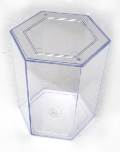 Orca betta hexagon fish tank b450100 the aquarium shop for Hexagon fish tank lid