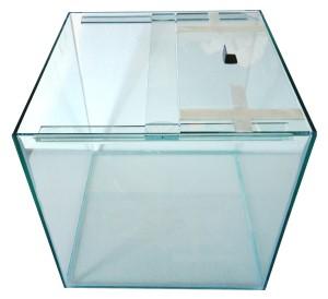 Standard glass aquarium cube tank 18 x 18 x 18inches the for 18 x 18 window