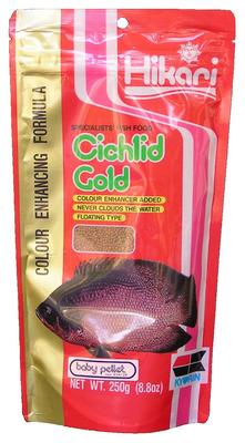 Hikari Cichlid Gold - Fish Food Baby 250g - The Aquarium ...