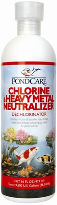 Aquarium Pharmaceuticals API PondCare Chlorine/Heavy Metal Neutraliser 473mL