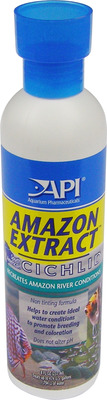 Aquarium Pharmaceuticals API Cichlid Amazon Extract 237mL