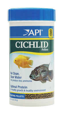 API Cichlid Floating Medium Pellet 120g