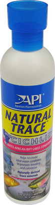Aquarium Pharmaceuticals API Cichlid Natural Trace 237mL