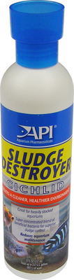 Aquarium Pharmaceuticals API Cichlid Sludge Destroyer 237mL