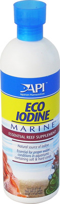 Aquarium Pharmaceuticals API Marine Eco Iodine 473mL