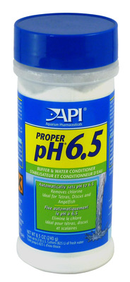 Aquarium Pharmaceuticals API Proper pH 6.5 powder 240g