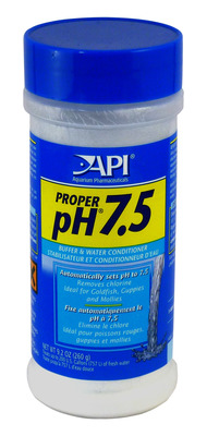 Aquarium Pharmaceuticals API Proper pH 7.5 powder 260g