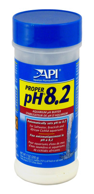 Aquarium Pharmaceuticals API Proper pH 8.2 powder 200g