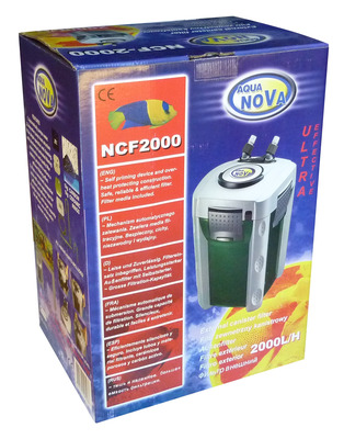 Aqua Nova NCF-2000 Aquarium Canister Filter 2000L/hr