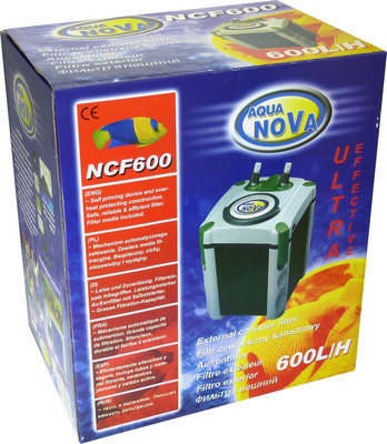 Aqua Nova NCF-600 Aquarium Canister Filter 600L/hr