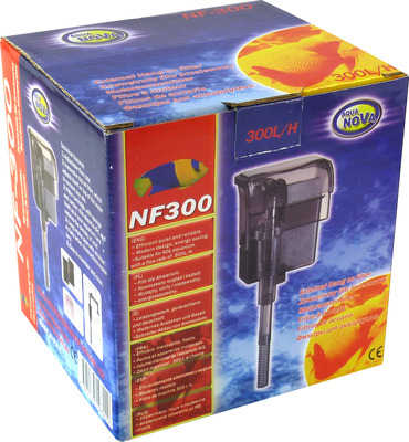 Aqua Nova Aquarium Hang On Filter NF-300