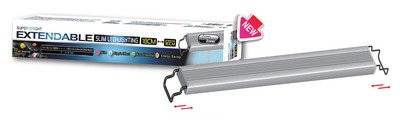 Aqua Zonic Super Bright Extendable LED Light Marine 40-55cm 18.6watts
