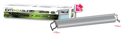 Aqua Zonic Super Bright Extendable LED Light Freshwater and Planted Tank 90-120cm 35.16watts