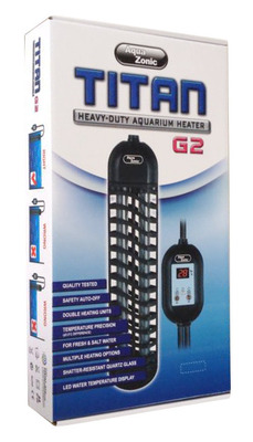 Aqua Zonic TITAN G2 Heavy Duty Aquarium Heater 1000w