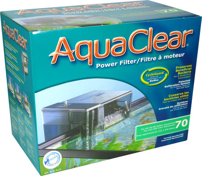 AquaClear Aquarium Hang On Filter 70
