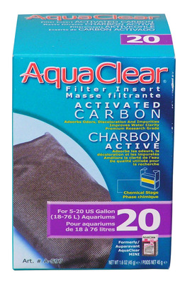 AquaClear 20 Activated Carbon Hang On Filter Media