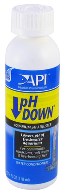 Aquarium Pharmaceuticals API pH Down 118mL
