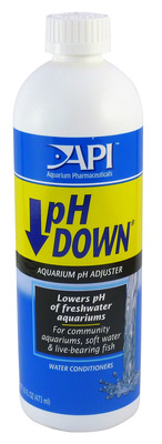 Aquarium Pharmaceuticals API pH Down 473mL