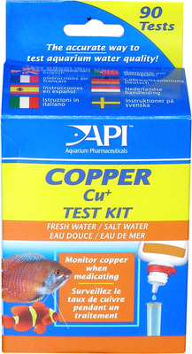 Aquarium Pharmaceuticals API Copper Test Kit