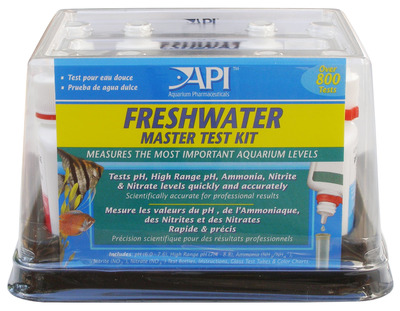 Aquarium pharmaceuticals api freshwater master test kit for How to raise ph in fish tank