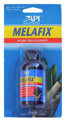 Aquarium Pharmaceuticals API Melafix Fish Medication 55mL