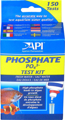 Aquarium Pharmaceuticals API Phosphate Test Kit