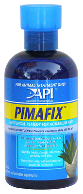 Aquarium Pharmaceuticals API Pimafix Fish Medication 237mL