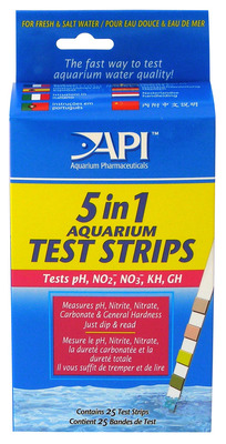 Aquarium Pharmaceuticals API Test Strips 5 in 1