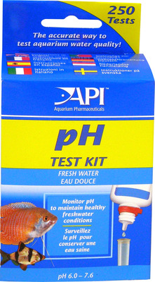 Aquarium Pharmaceuticals API Freshwater pH Test Kit
