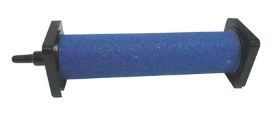 Cylinder Air stone 30mm dia x 125mm Blue