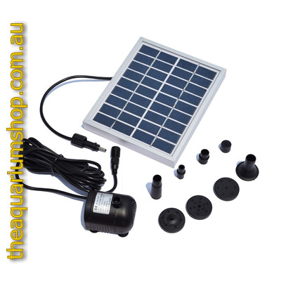 DC Solar Power Fountain Pool Water Pump 2watts