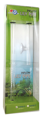 Easy Aqua Glass Lily Pipe Inflow 13mm