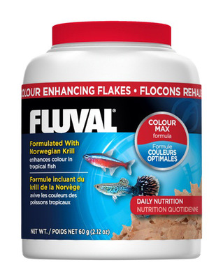 Fluval Colour Enhancing Fish Flakes 54g