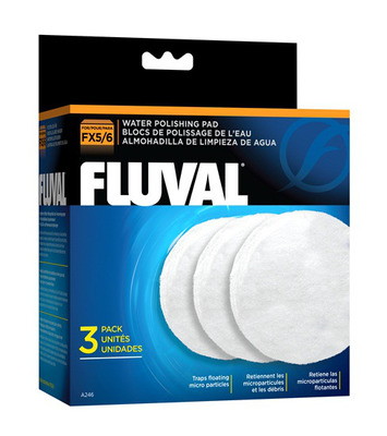 Fluval Water Polishing Pad Filter Media FX5/FX6