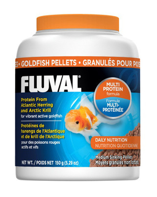 Fluval Goldfish Medium 3mm Sinking Pellets 150g
