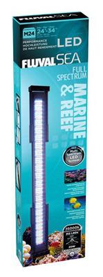 Fluval sea performance led strip light m24 marine and reef 25w the aquarium lights fluval sea performance led strip light m24 marine and reef 25w aloadofball Images