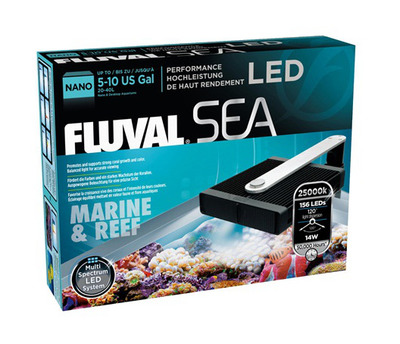 Fluval Sea Nano Performance Led Light Marine And Reef 14w The Aquarium Shop Australia