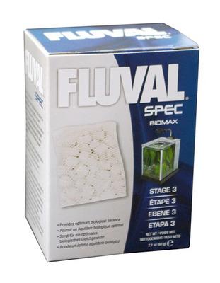 fluval spec evo flex 34l biomax rings filter media 60g the