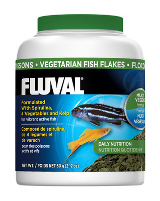 Fluval Vegetarian Fish Flakes 54g