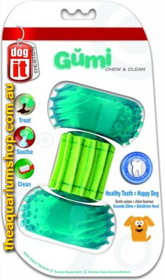 Dogit Design Gumi Dental Dog Toy Chew and Clean Small