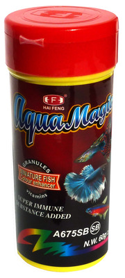 Hai Feng Aqua Magic Miniature Fish Granules 60g