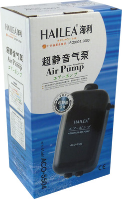 Hailea ACO 5504 Aquarium Air Pump