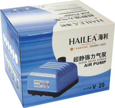 Hailea V-20 Aquarium Air Pump