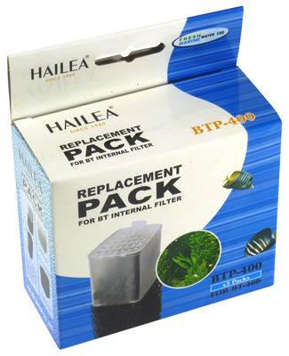 Hailea BT Internal Filter Cartridge and Foam BT-400