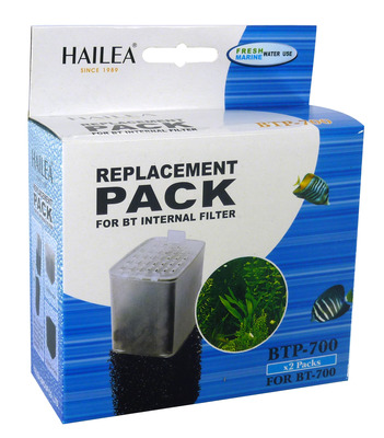 Hailea BT Internal Filter Cartridge and Foam BT-700