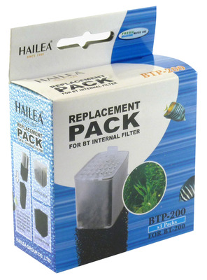 Hailea BT Internal Filter Cartridge and Foam BT-200