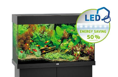 Juwel Rio 125 LED Aquarium Black Tank Only