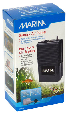 Aquarium Air Pumps   Fluval   Marina   Marina Battery Powered Aquarium