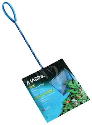 Marina Easy Catch Fish Net Fine Blue 12.5cm