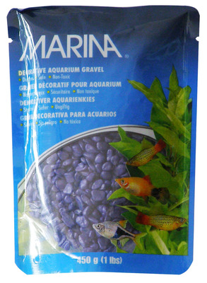 Marina Decorative Aquarium Gravel 450g Purple